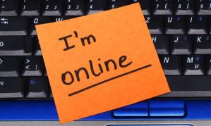 I'm online